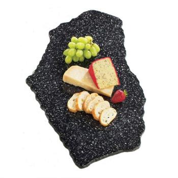 CLM12631 - Cal-Mil - 126-31 - X-Stone 16 in x 24 in Black Tray Product Image