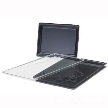 CLM3251213 - Cal-Mil - 325-12-13 - 12 in x 20 in Black Tray Product Image