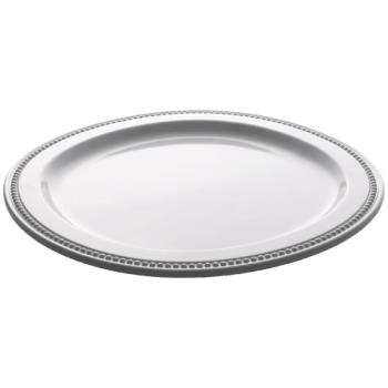 ESP06160NW - Espresso Supply - 06160-NW - 11 3/4 in Round White Platter Product Image
