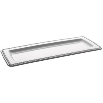 ESP06161NW - Espresso Supply - 06161-NW - 17 in x 6 3/4 in White Platter Product Image