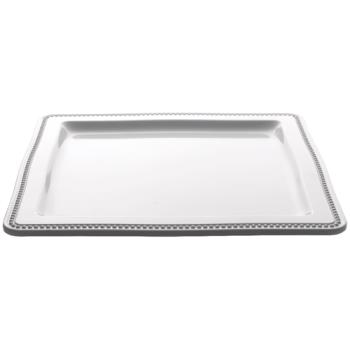 ESP06162NW - Espresso Supply - 06162-NW - 12 1/2 in x 12 1/2 in White Platter Product Image