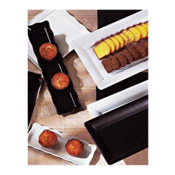 GETML155BK - GET Enterprises - ML-155-BK - Bake and Brew 14 in x 11 1/2 in Black Serving Tray Product Image