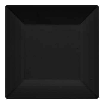 GETML90BK - GET Enterprises - ML-90-BK - Siciliano Black 12 in Square Plate Product Image