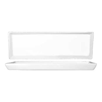 ITWFT13 - ITI - FT-13 - 13 1/2 in x 4 1/4 in Porcelain White Fruit Dish Tray Product Image