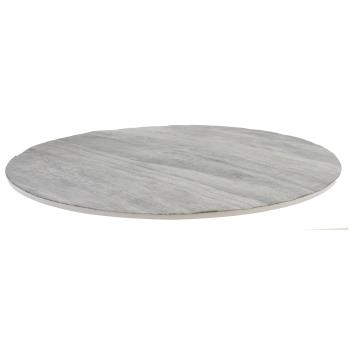 TABMG13DW - Tablecraft - MG13DW - 13 in Distressed Wood Round Display Tray Product Image