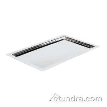 "WOR4245111 - World Cuisine - 42451-11 - 12 3/4"" x 20 7/8"" Stainless Tray Product Image"