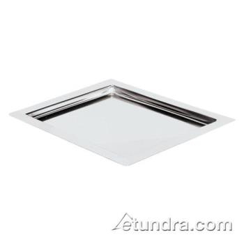 "WOR4245112 - World Cuisine - 42451-12 - 10 1/2"" x 12 1/2"" Stainless Tray Product Image"