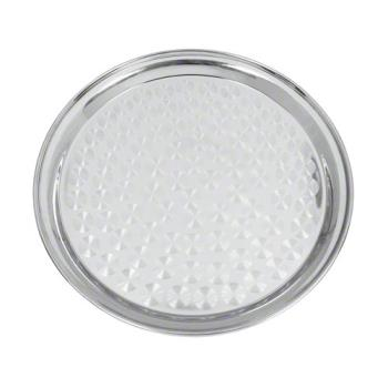 76692 - Update - SST-14R - 14 in Round Stainless Serving Tray Product Image