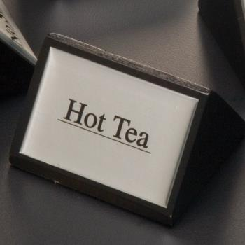 AMMSIGNHT1 - American Metalcraft - SIGNHT1 - 3 in Hot Tea Triangular Sign Product Image