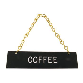 66175 - Tomlinson - 1912595 - Coffee Hanging Sign Product Image
