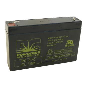 42382 - Commercial - 6 Amp/Hr Emergency Exit Light Battery Product Image