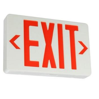 "42371 - Commercial - Lighted ""Exit"" Sign w/ Battery Backup Product Image"