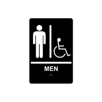 2160 - Commercial - 630166 - 6 in x 9 in ADA Men's Restroom Sign Product Image