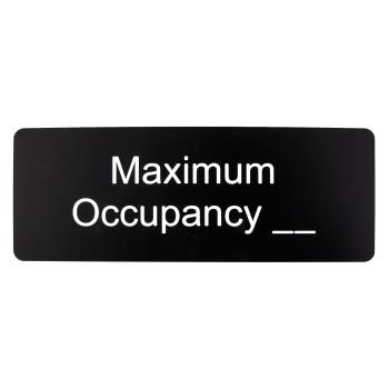 16104 - Commercial - Maximum Occupancy Sign Product Image