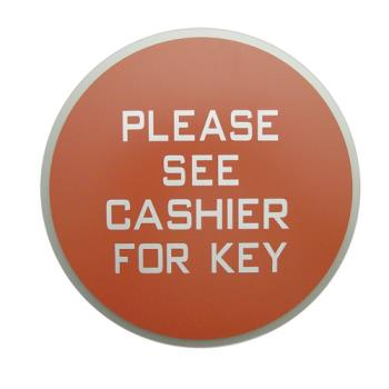 1171 - Commercial - See Cashier For Key Sign Product Image
