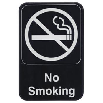 WINSGN601 - Winco - SGN-601 - 6 in x 9 in No Smoking Sign Product Image