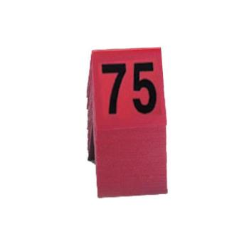 CLM2262 - Cal-Mil - 226-2 - Red Table Tent Set - 51-75 Product Image