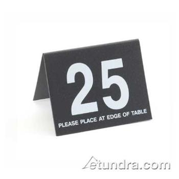 CLM234113 - Cal-Mil - 234-1-13 - Black Table Tent Set - 26-50 Product Image