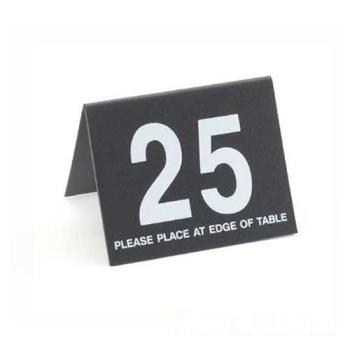 CLM23413 - Cal-Mil - 234-13 - Black Table Tent Set - 1-25 Product Image