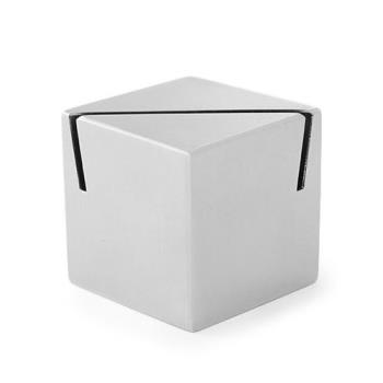 AMMACS112 - American Metalcraft - ACS112 - Stainless Steel Cube Card Holder Product Image