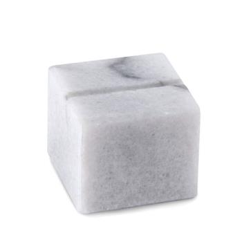 AMMMCHW125 - American Metalcraft - MCHW125 - White Marble Card Holder Product Image