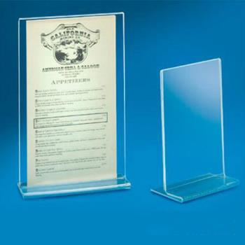 CLM506 - Cal-Mil - 506 - 4 in x 6 in Tabletop Card Holder Product Image