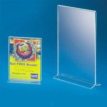 CLM512 - Cal-Mil - 512 - 4 in x 6 in Tabletop Card Holder Product Image
