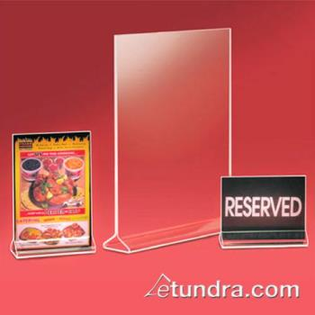 CLM526 - Cal-Mil - 526 - 8 1/2 in x 11 in Tabletop Card Holder Product Image
