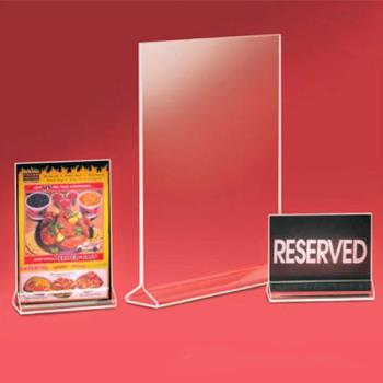 CLM537 - Cal-Mil - 537 - 4 in x 8 in Tabletop Card Holder Product Image