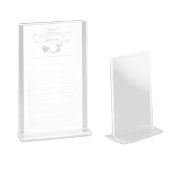 CLM580 - Cal-Mil - 580 - 5 in x 7 in Tabletop Card Holder Product Image