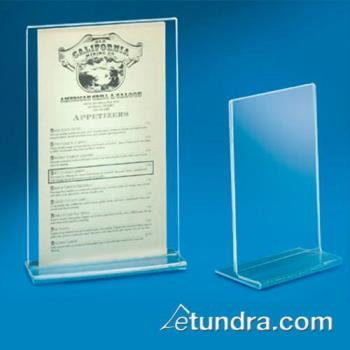 CLM583 - Cal-Mil - 583 - 8 1/2 in x 11 in Tabletop Card Holder Product Image