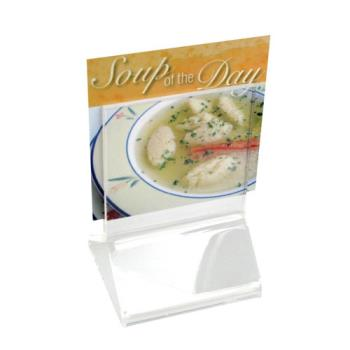 CLM591 - Cal-Mil - 591 - 2 1/4 in x 2 1/4 in Tabletop Card Holder Product Image