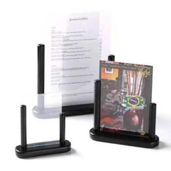 AMMELEBLSM - American Metalcraft - ELEBLSM - Securit® 4 in x 6 in Black Table Board Product Image