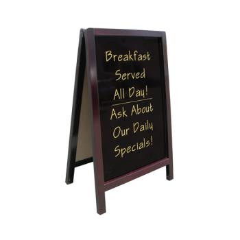 UPDASIGN2034 - Update - ASIGN-2034 - 20 in x 34 in Dark Wood Sandwich Sign Product Image