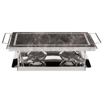 WOR4131504 - World Cuisine - 41315-04 - 7 1/2 in x 14 1/2 in Stone Grill Set Product Image