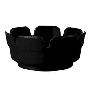 GETAT4BK - GET Enterprises - AT-4-BK - Black Ash Tray Product Image