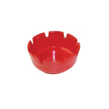 WINMAS4R - Winco - MAS-4R - 4 in Red Ashtray Product Image