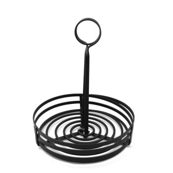 76272 - American Metalcraft - FWC89 - 8 in Round Flat Coil Condiment Basket Product Image