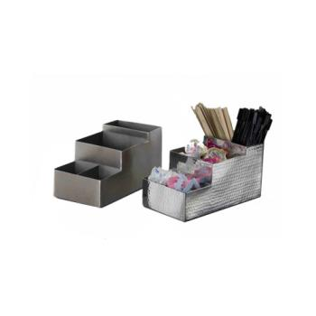 75730 - American Metalcraft - HMBAR9 - Hammered Finish Stainless Steel Coffee Caddy Product Image