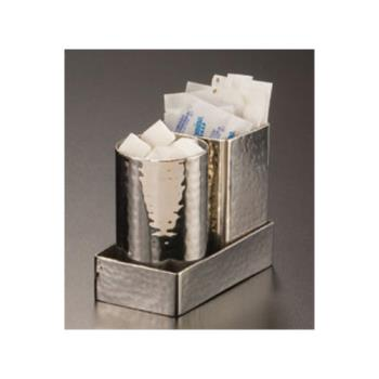 AMMHMSPT3 - American Metalcraft - HMSPT3 - 4 1/4 in x 2 1/4 in Stainless Sugar Packet Holder Product Image