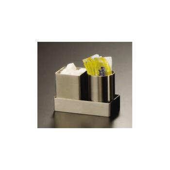 AMMSSPT5 - American Metalcraft - SSPT5 - 2 in Square Stainless Sugar Packet Holder Product Image
