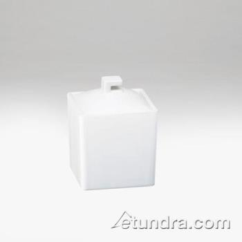 CLM143215 - Cal-Mil - 1432-15 - 4 in Square White Melamine Jar Product Image
