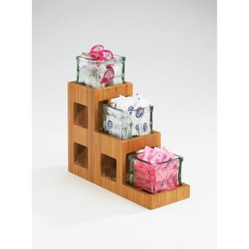 CLM1486 - Cal-Mil - 1486 - 3-Tier Bamboo 4 in Jar Display Product Image