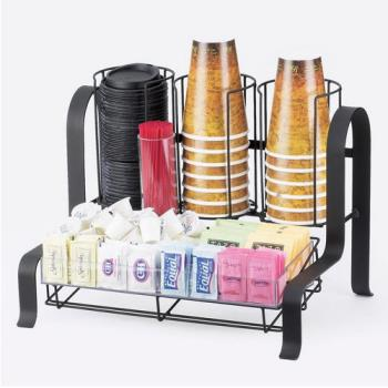 CLM159413 - Cal-Mil - 1594-13 - 2-Tier Black Coffee Organizer Product Image