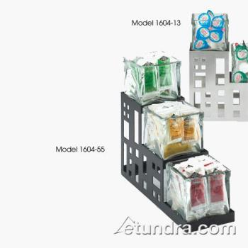 CLM160455 - Cal-Mil - 1604-55 - 3-Tier Stainless Steel 4 in Jar Display Product Image