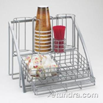 CLM171539 - Cal-Mil - 1715-39 - 3-Tier Silver Coffee Organizer Product Image