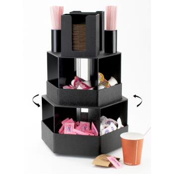 CLM1719 - Cal-Mil - 1719 - 3-Tier Revolving Coffee Organizer Product Image