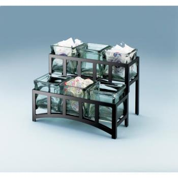 CLM1723 - Cal-Mil - 1723 - 2-Tier Black 4 in Jar Display Product Image