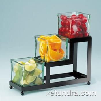 CLM1803413 - Cal-Mil - 1803-4-13 - 3-Tier Black 4 in Jar Display Product Image