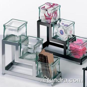 CLM1803449 - Cal-Mil - 1803-4-49 - 3-Tier Silver 4 in Jar Display Product Image
